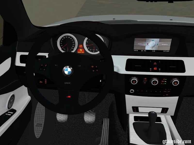 Gta 3 2009 Bmw M5 E60 Mod Gtainside Com