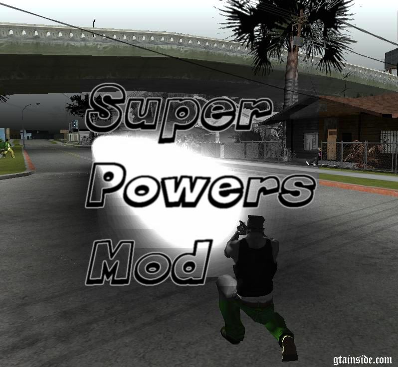 GTA San Andreas Super Powers Mod Mod - GTAinside com