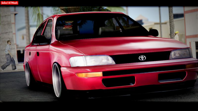 Gta San Andreas Toyota Corolla 1997 Jdm Mod Gtainside Com