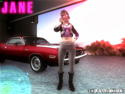 Saints Row Girl Style