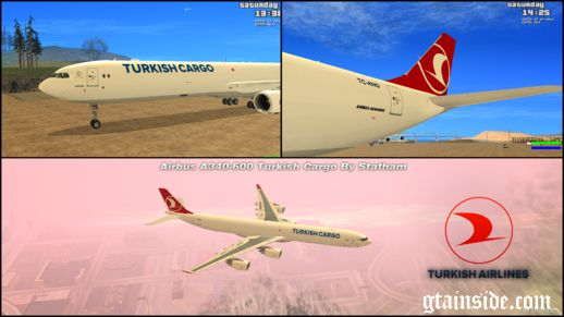Airbus A340-600F Turkish Cargo