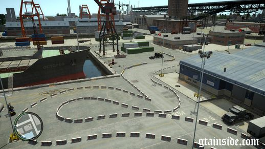 Drift Track 7# Docks