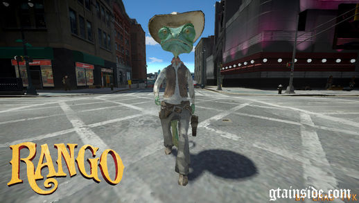 Rango Player Model + His Gun