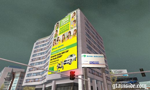 Bank Bukopin Cherrbelle Billboard