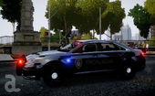 2013 Ford Police Interceptor - Liberty City Police Department Slicktop/Unmarked (ELS)