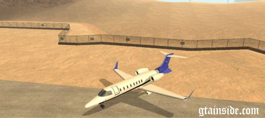 GTA V Repaint: Shamal Skins for Learjet 45