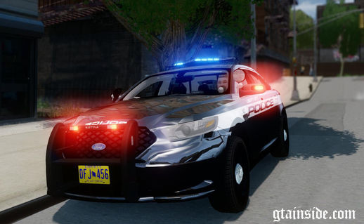 2013 Ford Police Interceptor - Liberty City Police Department (ELS7)