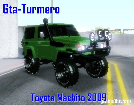 Toyota Machito Fj70 2009 V2