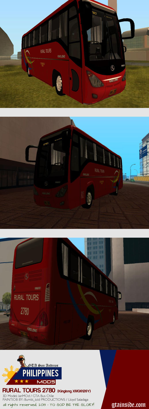 KINGLONG XMQ6126Y - Rural Tours 2780