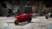 Bati 801 like Ducati 848 in GTA V style
