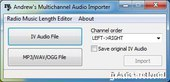 Andrew's Multichannel Audio Importer