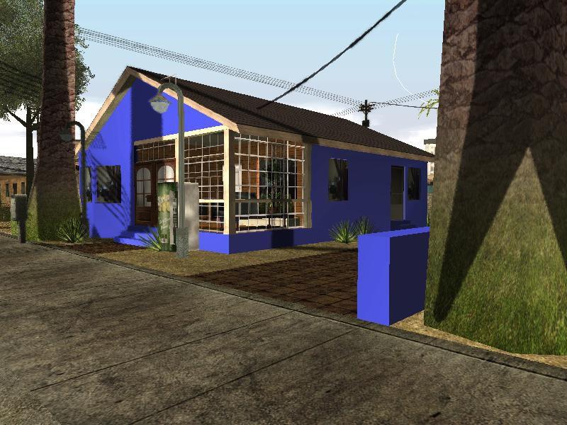 Gta san andreas new home of big smoke mod for New house big