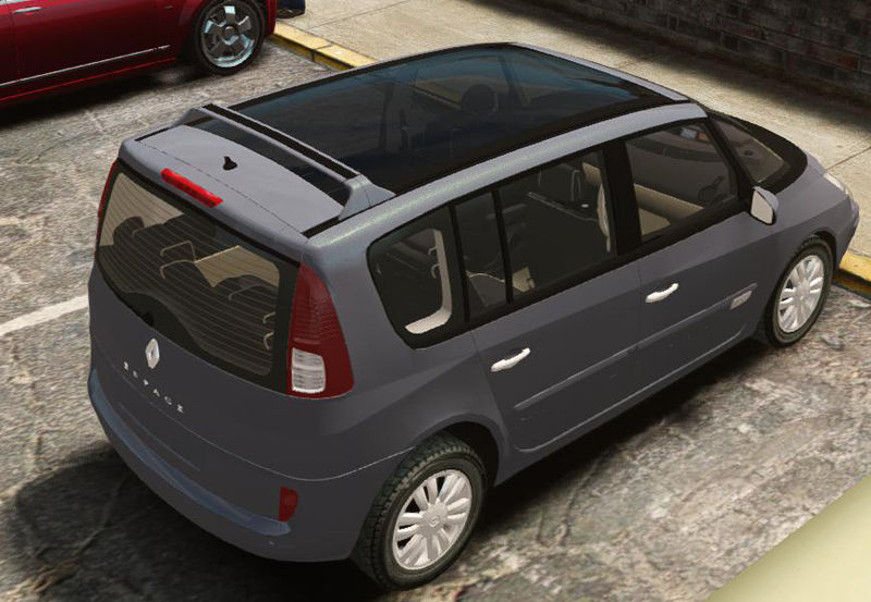 gta 4 renault espace iv initiale mod. Black Bedroom Furniture Sets. Home Design Ideas
