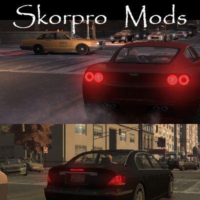 Brake Lights Mod v1.0 & GTA 4 Brake Lights Mod v1.0 Mod - GTAinside.com