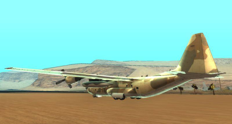"""GTA San Andreas C-130H Hercules """"GTA V Titan"""" Mod ..."""
