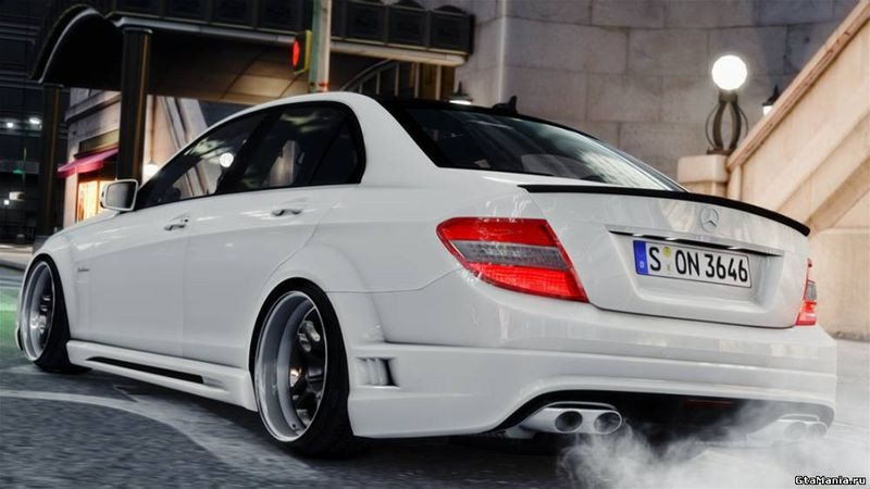 Gta 4 mercedes benz c63 amg 2010 mod for 2010 mercedes benz c63 amg