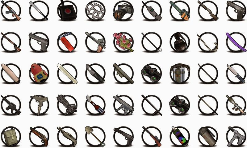 GTA San Andreas New Weapon Icons Mod