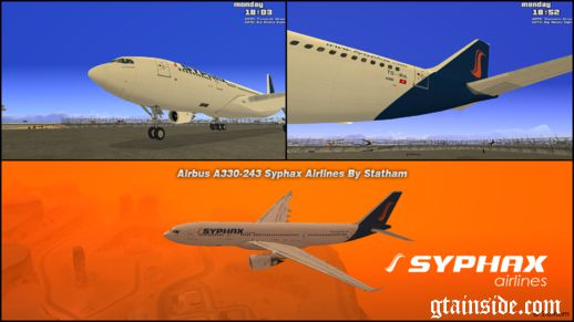 Airbus A330-243 Syphax Airlines