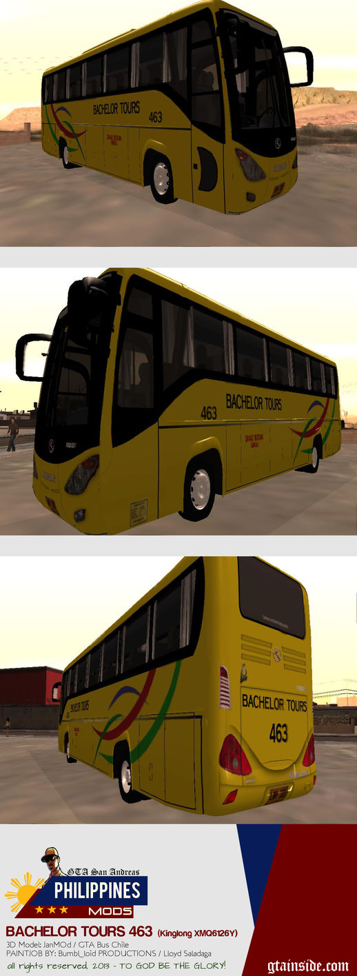 Kinglong XMQ6126Y - Bachelor Tours 463