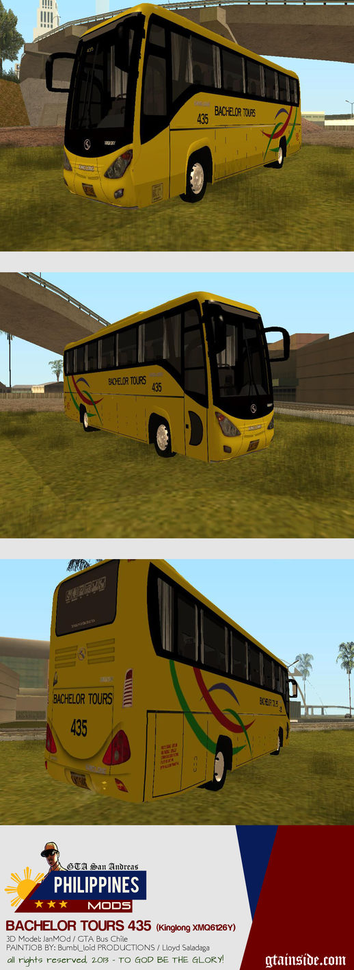 Kinglong XMQ6126Y - Bachelor Tours 435