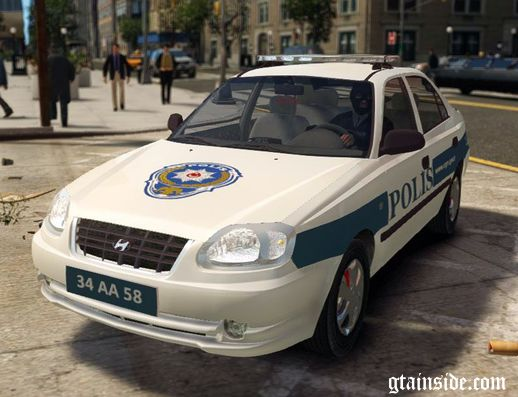 Hyundai Accent Admire Turkish Police ELS