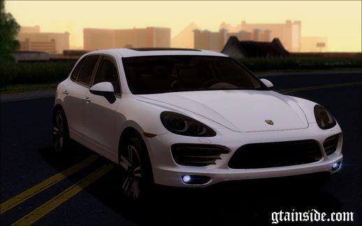 Gta San Andreas 2013 Porsche Cayenne Turbo S V10 Mod Gtainside