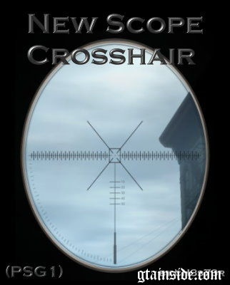 New Scope Crosshair (PSG1)