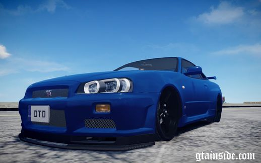 Nissan Skyline R34 (stock)
