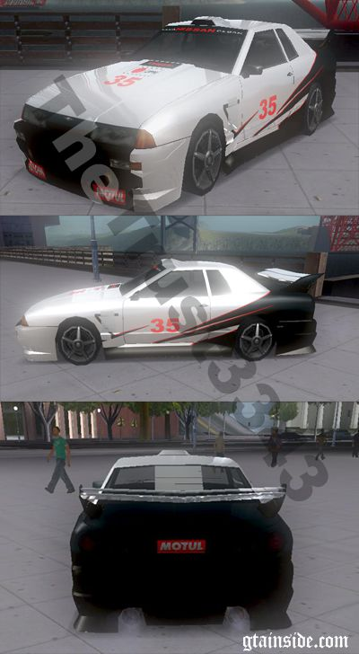 Elegy Black White Racing Texture