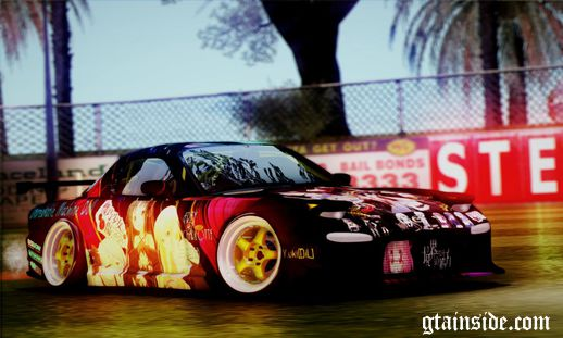 Mazda RX7 Unbreakable Machine Doll Itasha