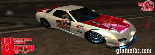 RX7 PaintJobs Anime JKT48