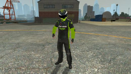 ICON Drift 3 NICK APEX Suit