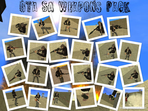[nF]GTA SA New Weapons Pack[nF]