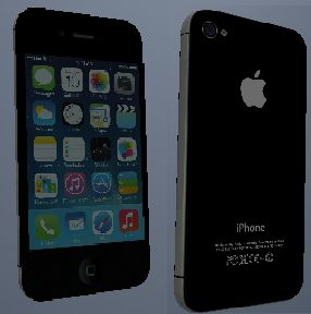 iPhone 4S Black iOS7