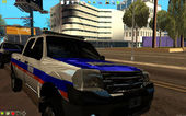 2011 Ford Ranger Province of Buenos Aires Police
