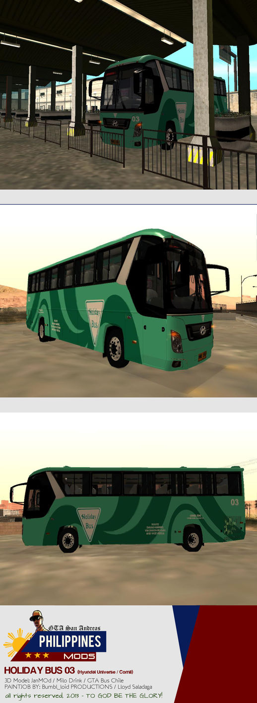 Holiday Bus 03