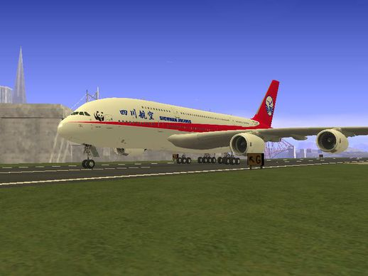 Sichuan Airlines A380-800