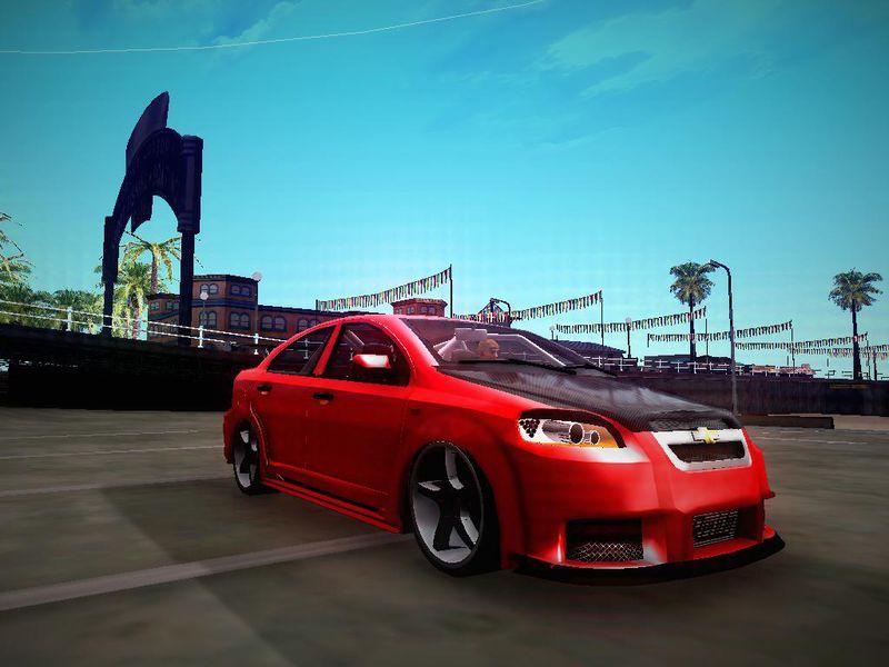 Gta San Andreas Chevrolet Aveo Lt Tuning Mod Gtainside
