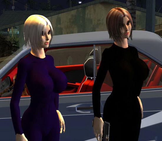 Gta San Andreas Booty Sisters Mod Gtainside Com