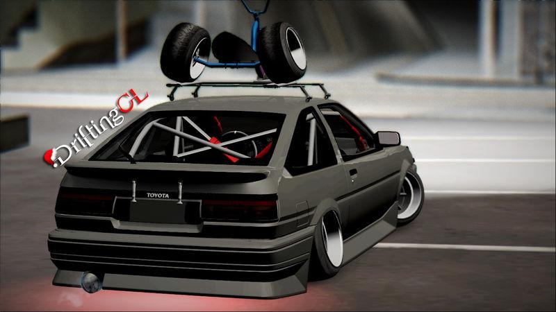 Gta San Andreas Toyota Corolla Ae Helladrift Mod Gtainside Com