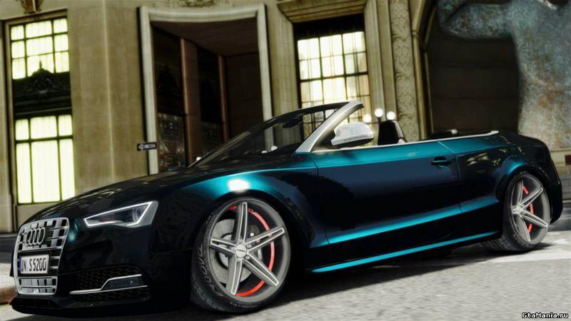 Gta 4 2012 Audi S5 Convertible Mod Gtainside Com