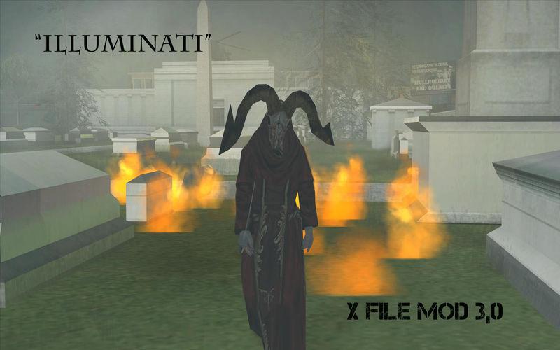 GTA San Andreas X-Files Mod [OLD Version] Mod - GTAinside com