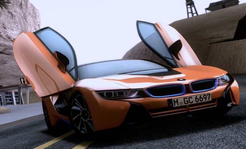 GTA San Andreas BMW I Mod GTAinsidecom - 2013 bmw i8