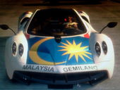 Malaysian and USA Pagani Huayra Skin
