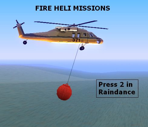 Fire Heli Missions