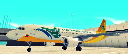 Airbus A320 Cebu Pacific Air