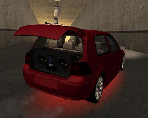 VW Golf 4 Tuned