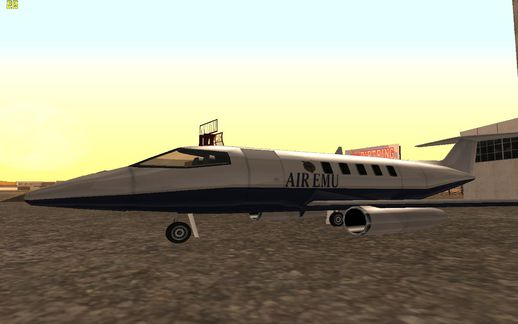 GTA V Air Emu Shamal