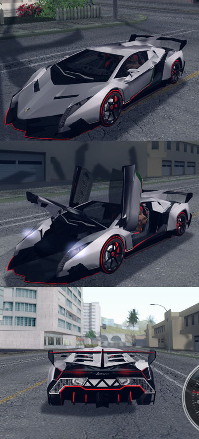 Lamborghini Veneno Advance Edition
