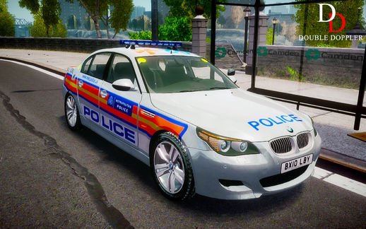 BMW M5 Met & Unmarked Police